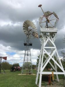 Enkele windmotoren uit de vroegere Morse collection